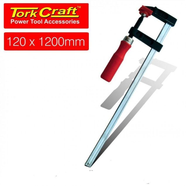 Picture of TORK CRAFT CLAMP GERMAN F TYPE 120 X 1200MM