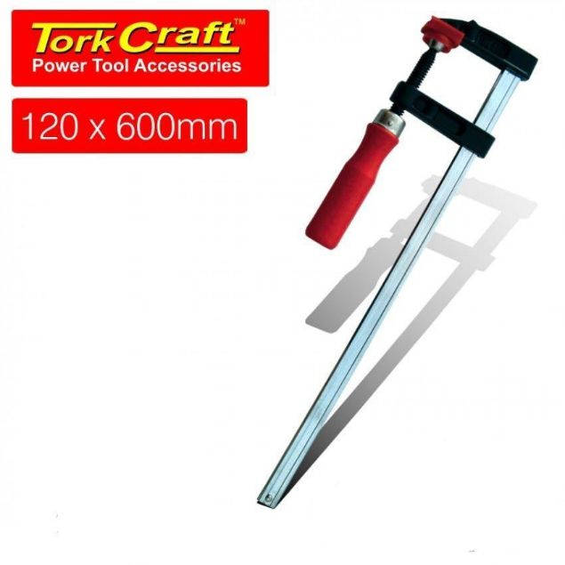 Picture of TORK CRAFT CLAMP GERMAN F TYPE 120 X 600MM