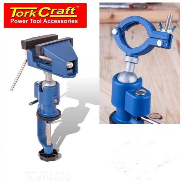 TORK CRAFT CLAMP VICE & DRILL 50 X 78MM SOUTH AFRICA