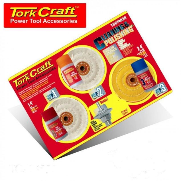 Picture of TORK CRAFT CLEAN & POLISH KIT SOFT