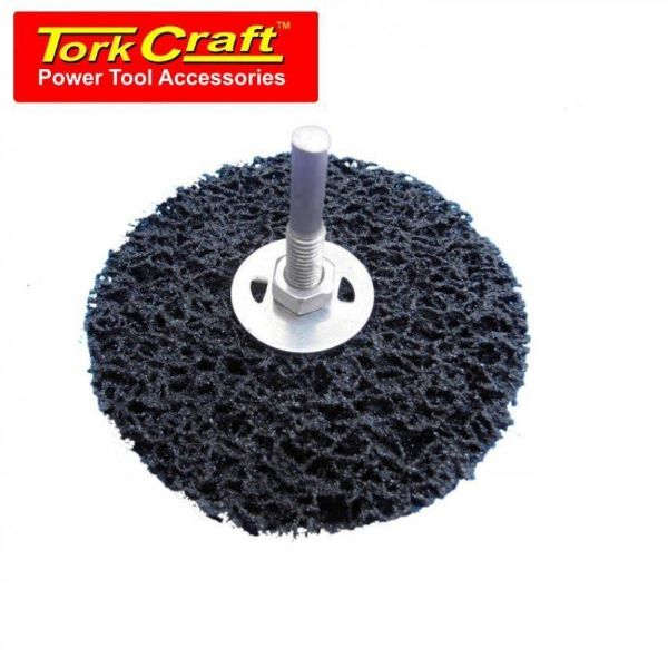 TORK CRAFT DISC & ARBOR FACE OFF CARDED 100MM SOUTH AFRICA