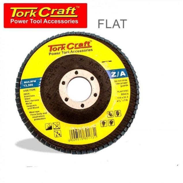 Picture of TORK CRAFT DISC FLAP ZIRCONIUM 115MM P60