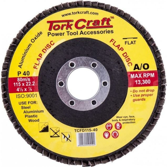 Picture of TORK CRAFT 115MM P40 DISC SANDING FLAP