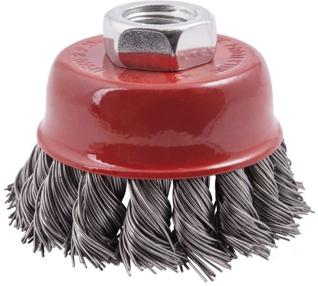 Picture of TORK CRAFT BRUSH STAINLESS STEEL CUP KNOTTED
