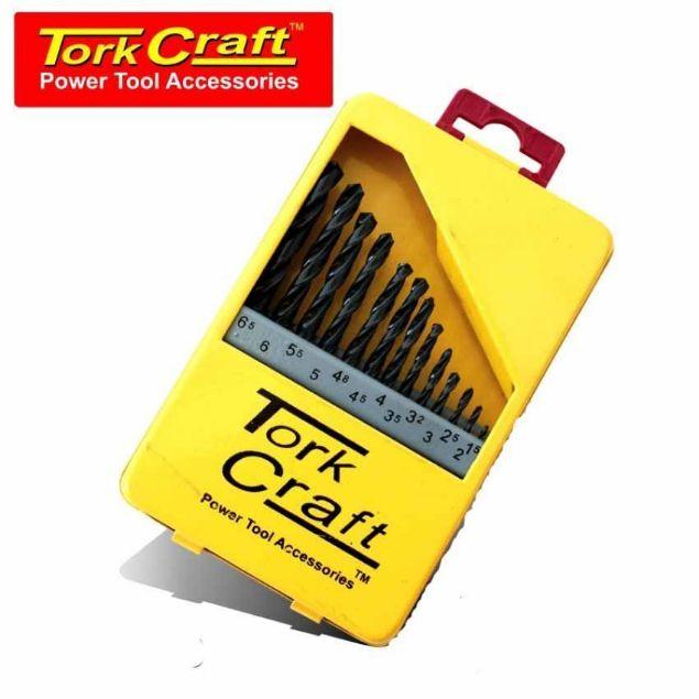 TORK CRAFT DRILL BIT ROLL FORGED SET 13PCE SOUH AFRICA