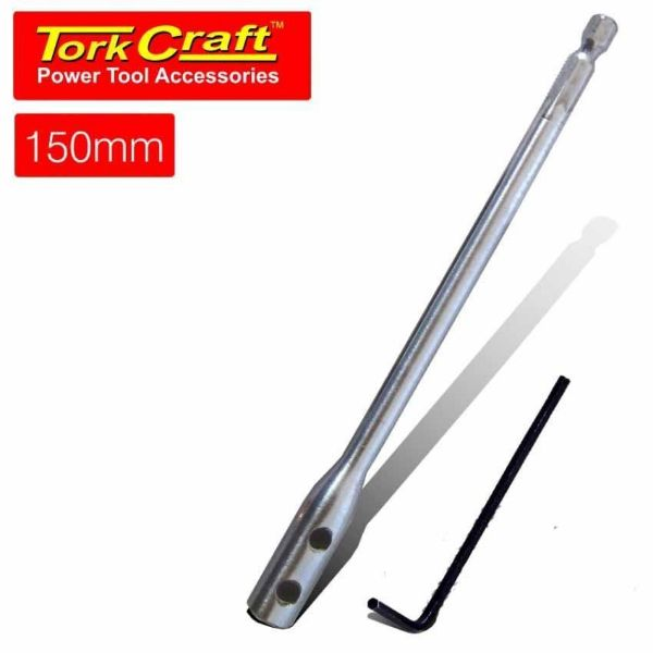 TORK CRAFT EXTENSION FOR SPADE BITS 150MM SOUTH AFRICA