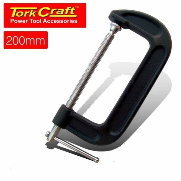 "Picture of TORK CRAFT G CLAMP HEAVY DUTY 8""/200MM"