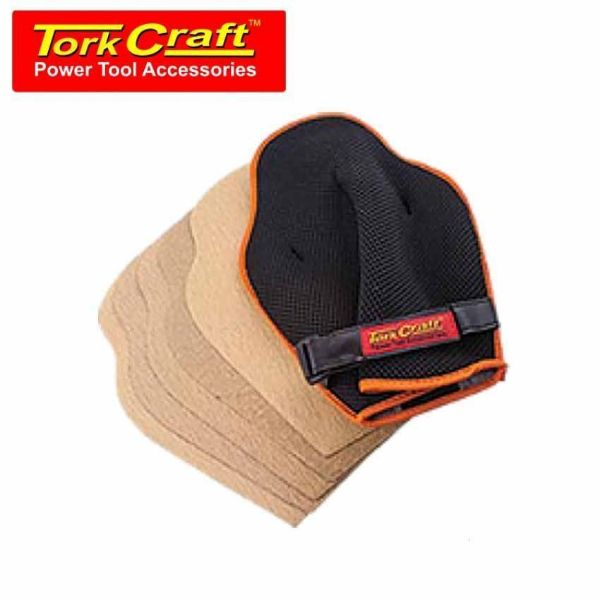 Picture of TORK CRAFT GLOVE SANDING + 3 SHEETS P60,P80,P120