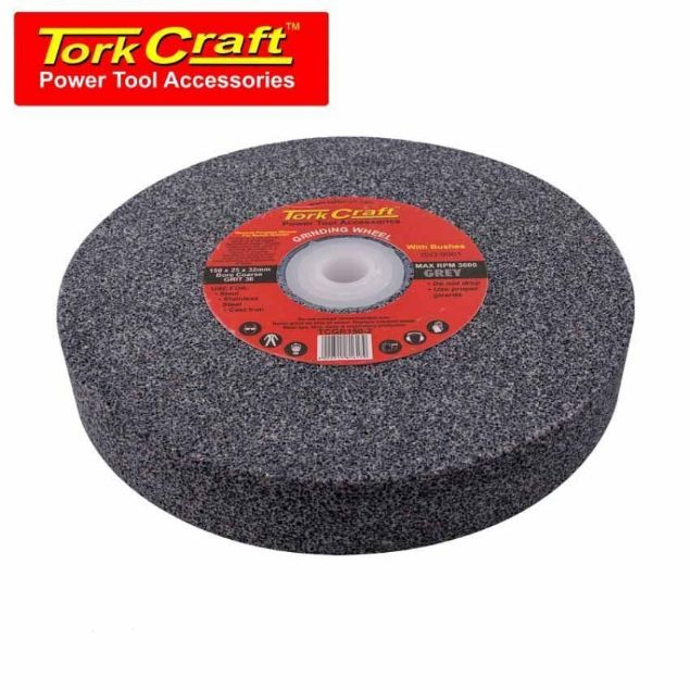 TORK CRAFT GRINDING WHEEL COARSE 150 X 25 X 32MM SOUTH AFRICA