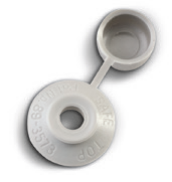 Picture of SAFE TOP 100/PKT T/SPEED CAP & WASHERS DOVE