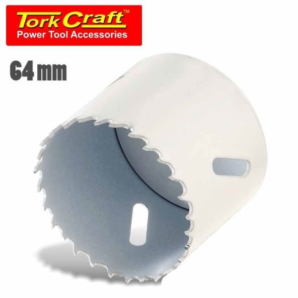 TORK CRAFT 64MM B/M T/C HOLE SAW SOUTH AFRICA