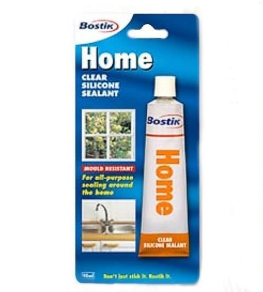 Picture of BOSTIK 90ML SILICONE HOME CLEAR