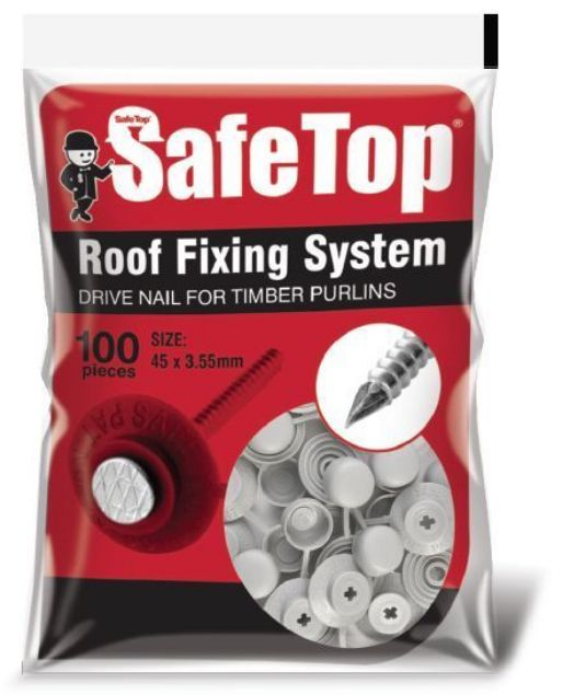 Picture of SAFE TOP  90MM SCREW ROOF GREY