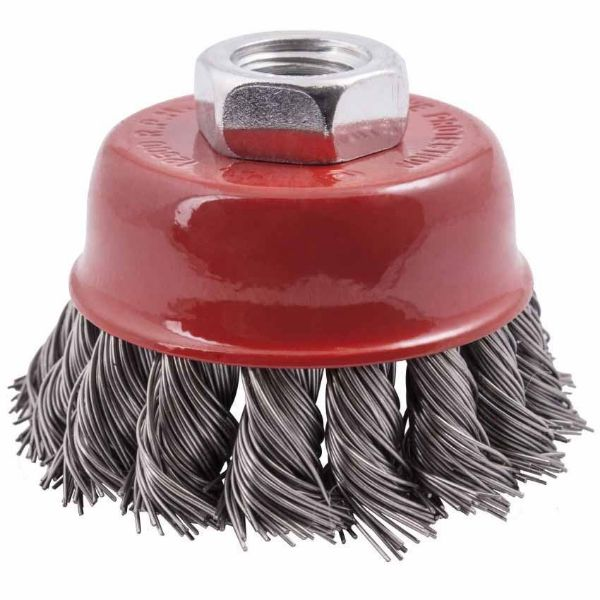 TORK CRAFT 65 X M14 KNOTTED STEEL WIRE CUP BRUSH SOUTH AFRICA