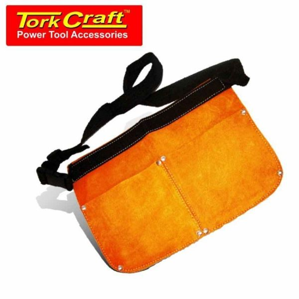 TORK CRAFT LEATHER NAIL BAG DOUBLE SOUTH AFRICA