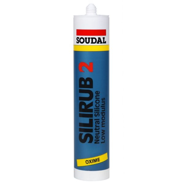 Soudal Silirub 2 White 310ml