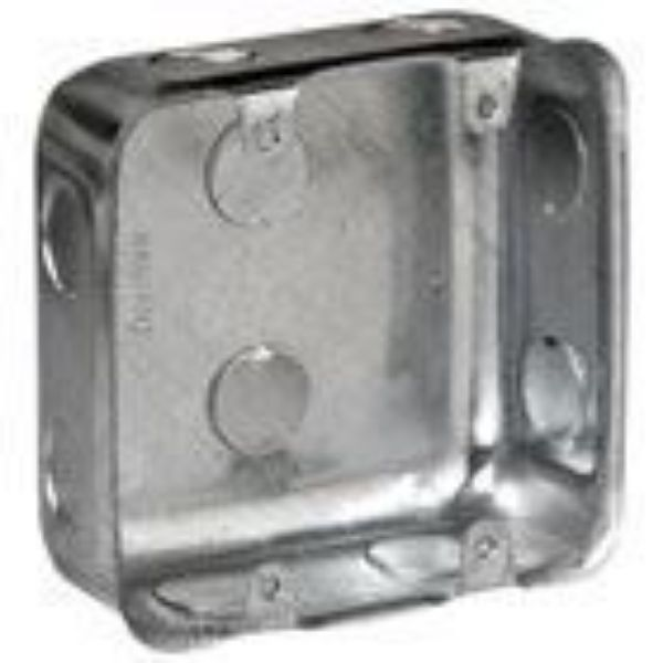 Picture of ELLIES 100X100MM GALVANISED WALL BOX