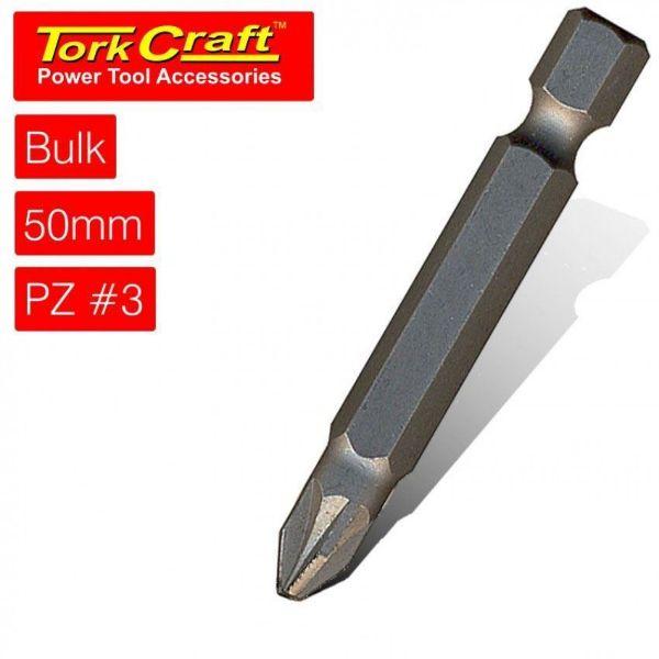 TORK CRAFT 3 X 50MM POZI BIT SOUTH AFRICA