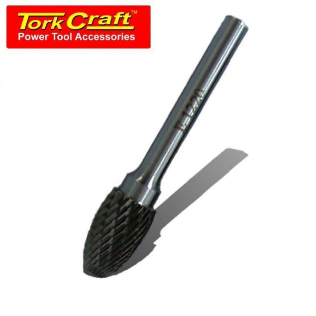 TORK CRAFT 6 X 12 X 20MM ROTARY BURR TUNGSTEN SOUTH AFRICA