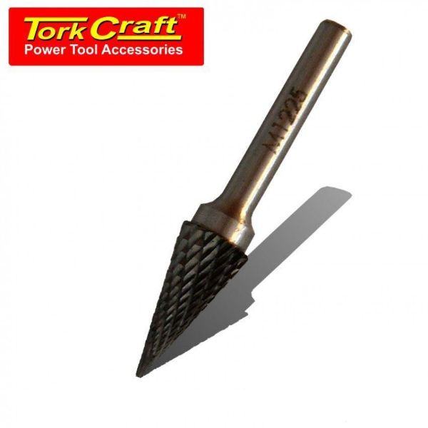 Picture of TORK CRAFT 12X 25X 6MM ROTARY BURR TUNGSTEN