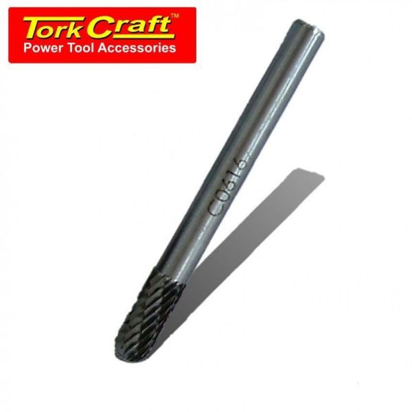 Picture of TORK CRAFT 6 X 16 X 6MM ROTARY BURR TUNGSTEN