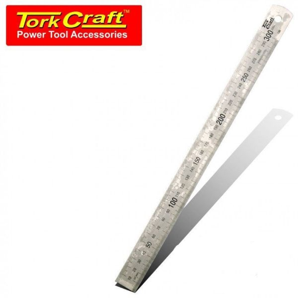 TORK CRAFT 1.0 X 25 X 300MM RULER STAINLESS STEEL SOUTH AFRICA