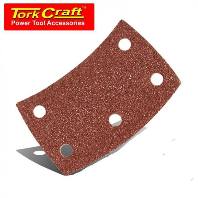 TORK CRAFT P120 SANDING PADS VELCRO CURVED SOUTH AFRICA