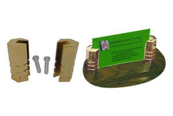 Picture of TOOLMATE BUSINESS CARD HOLDER GOLD