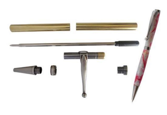 Picture of TOOLMATE FANCY SLIMLINE GUN POLISH PEN KIT