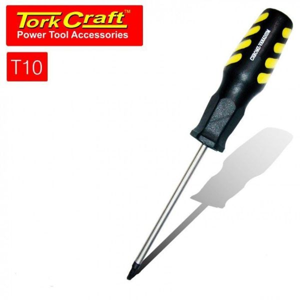 TORK CRAFT T10 5 X 100MM SCREWDRIVER TORX SOUTH AFRICA