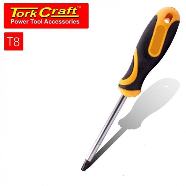 TORK CRAFT 100MM SCREWDRIVER TORX T8 TAMPER SOUTH AFRICA