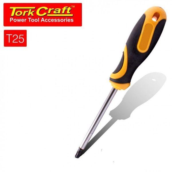 TORK CRAFT T25 6 X 100MM SCREWDRIVER TORX TAMPER PROOF SOUTH AFRICA