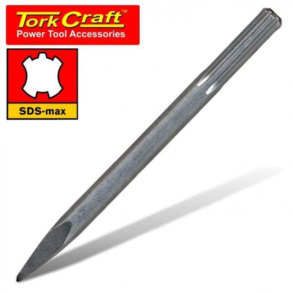TORK CRAFT 18 X 280MM SDS MAX POINTED CHISEL SOUTH AFRICA