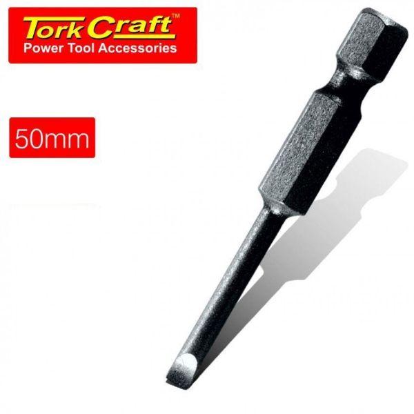 TORK CRAFT 4 X 50MM SLOT HEAD POWER BIT SOUTH AFRICA