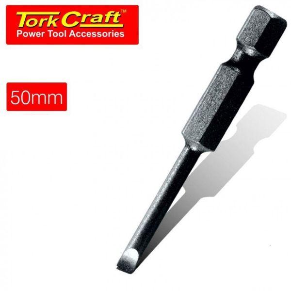 TORK CRAFT 5 X 50MM SLOT HEAD POWER BIT SOUTH AFRICA