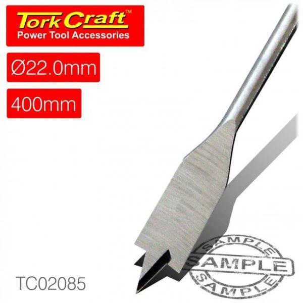 TORK CRAFT 22 X 400MM SPADE BIT SOUTH AFRICA