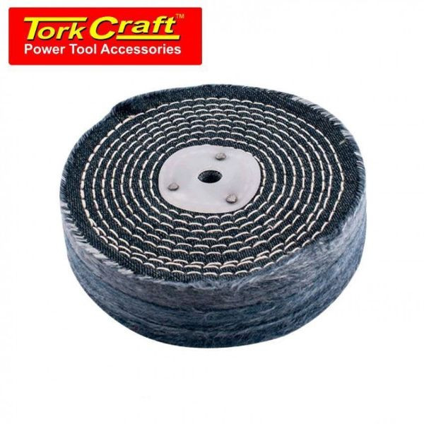 TORK CRAFT 150MM STITCH BUFF 3 SEC COLOURED SOUTH AFRICA