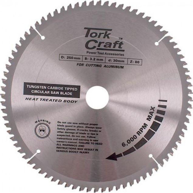 TORK CRAFT 30:1:20 TCG 250 X 80T TCT BLADE SOUTH AFRICA