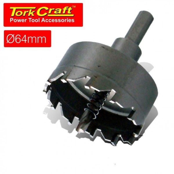 TORK CRAFT 64MM TCT HOLE SAW FOR METAL SOUTH AFRICA