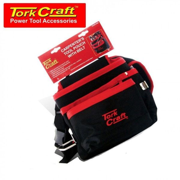 TORK CRAFT 5 POCKET TOOL POUCH WITH BELT SOUTH AFRICA