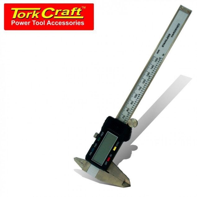TORK CRAFT 4 KEY 150MM VERNIER DIGITAL SOUTH AFRICA