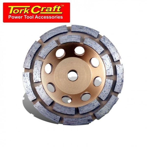 TORK CRAFT DIA CUP WHEEL DBL ROW M14 115MM SOUTH AFRICA