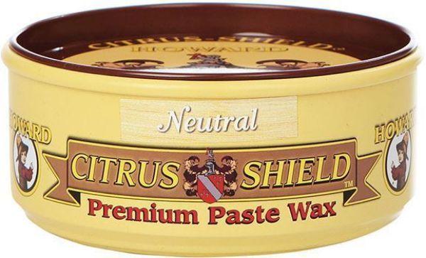 HOWARD NEUTRAL CITRUS-SHIELD PASTE WAX  11OZ