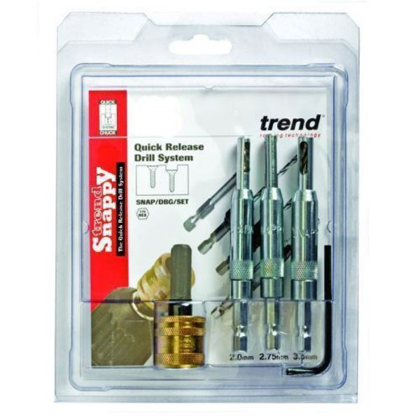 TREND 4 PCE  DRILL BIT GUIDE SET - SOUTH AFRICA