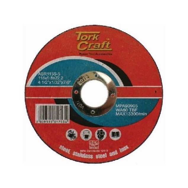 Picture of TORK CRAFT 1MM STEEL CUT OFF DISKS