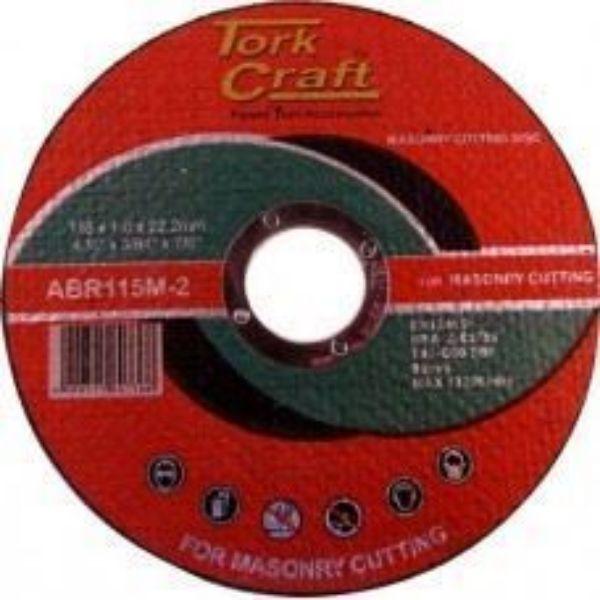 TORK CRAFT DISC CUTTING MASONRY 1.0 X 115MM SOUTH AFRICA