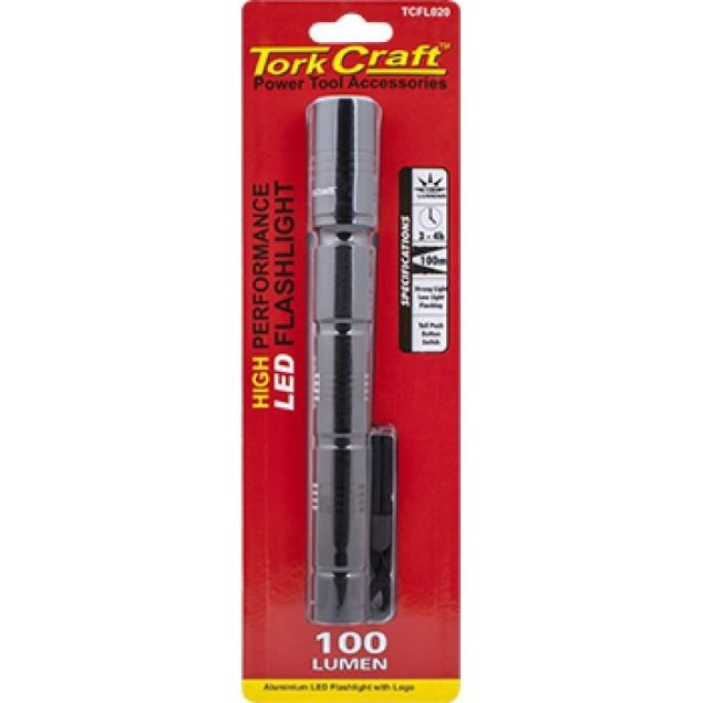 Picture of TORK CRAFT BLACK TORCH 100 LUMENS