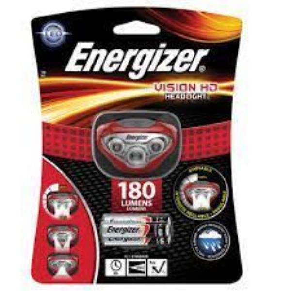 ENERGIZER VISION HD HEAD RED SOUTH AFRICA