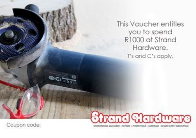 Picture of STRAND HARDWARE R1000 GIFT VOUCHER