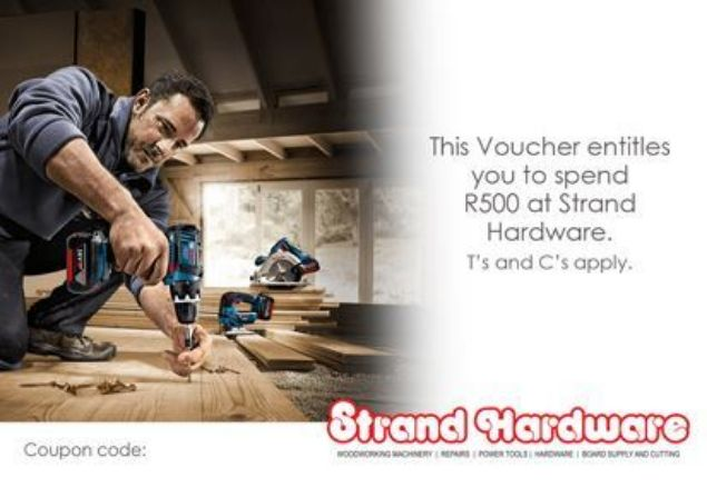 Picture of STRAND HARDWARE R500 GIFT VOUCHER